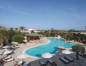 dettaglio su piscina dei Medusa Hotels