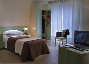 dettaglio su camera del Residence Viale Venezia a Verona