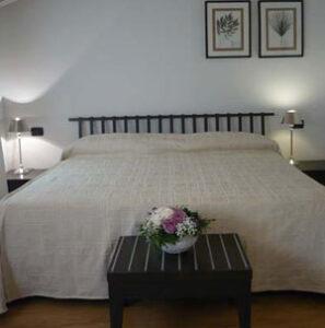 Dettaglio su camera dell'Hotel Marco Polo a Verona