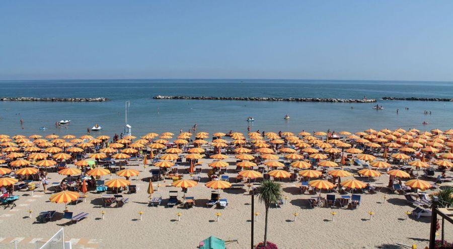 Spiaggia dell'Hotel Cannes